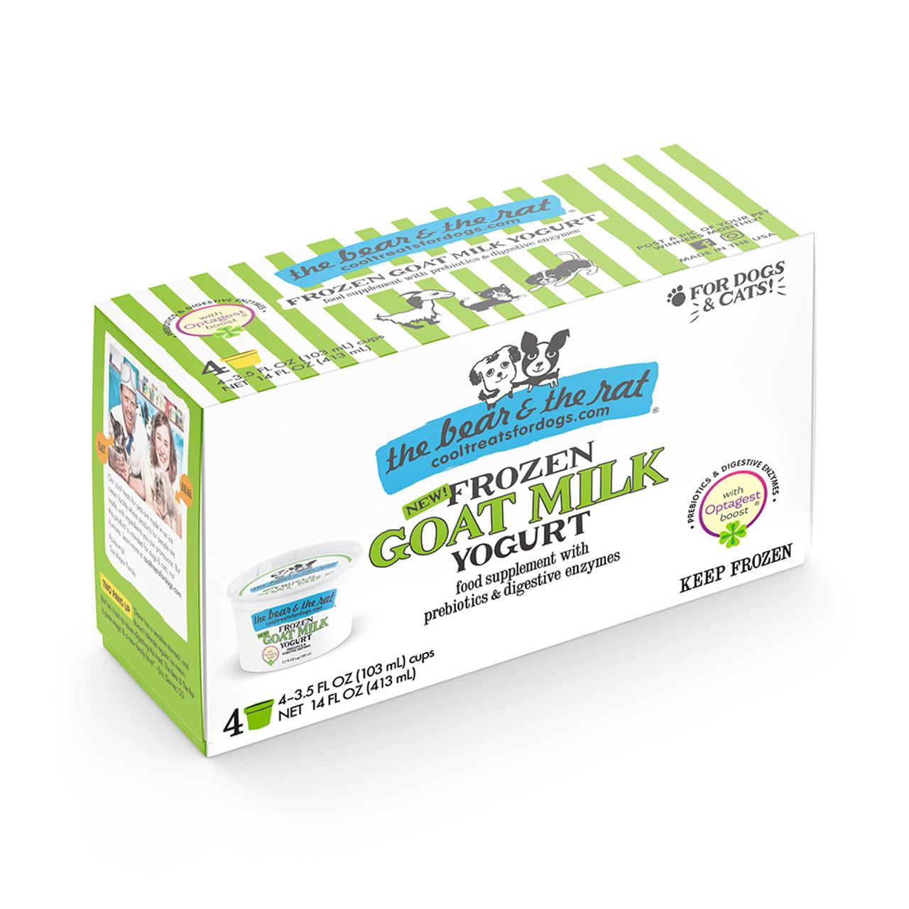 The Bear & The Rat Goat Milk Frozen Yogurt Cat & Dog Treats