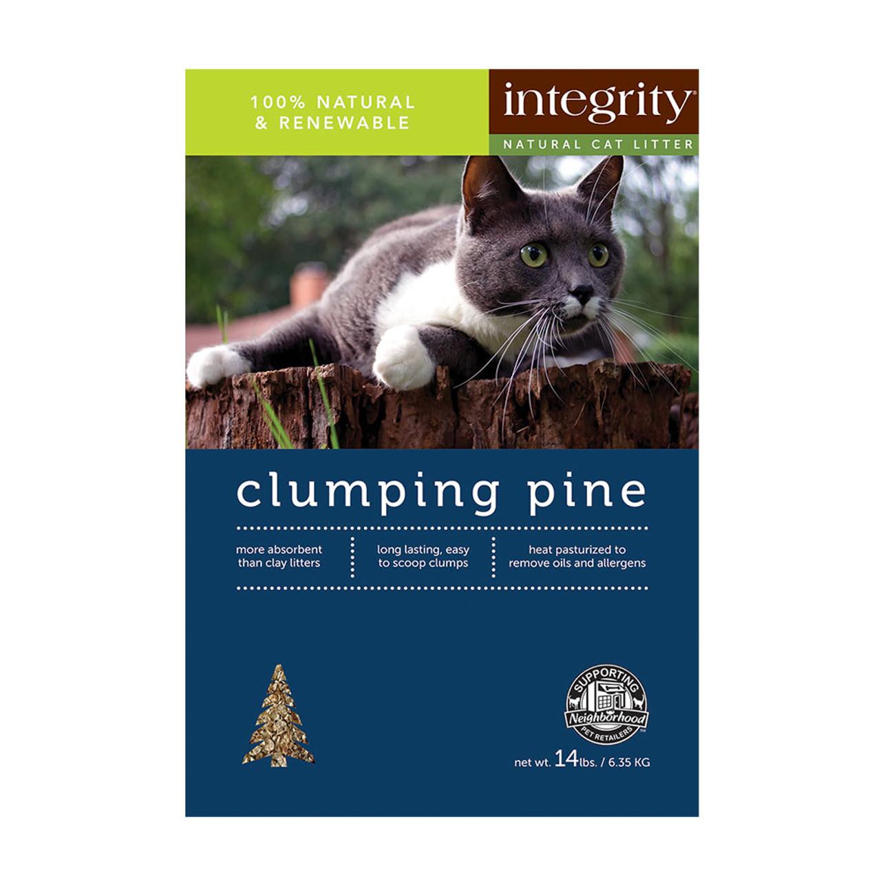 Integrity Clumping Pine Cat Litter