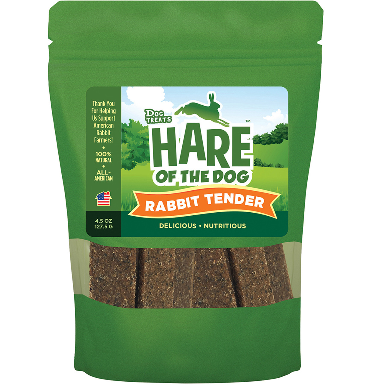 Hare of the Dog Rabbit Tenders Dog Treats