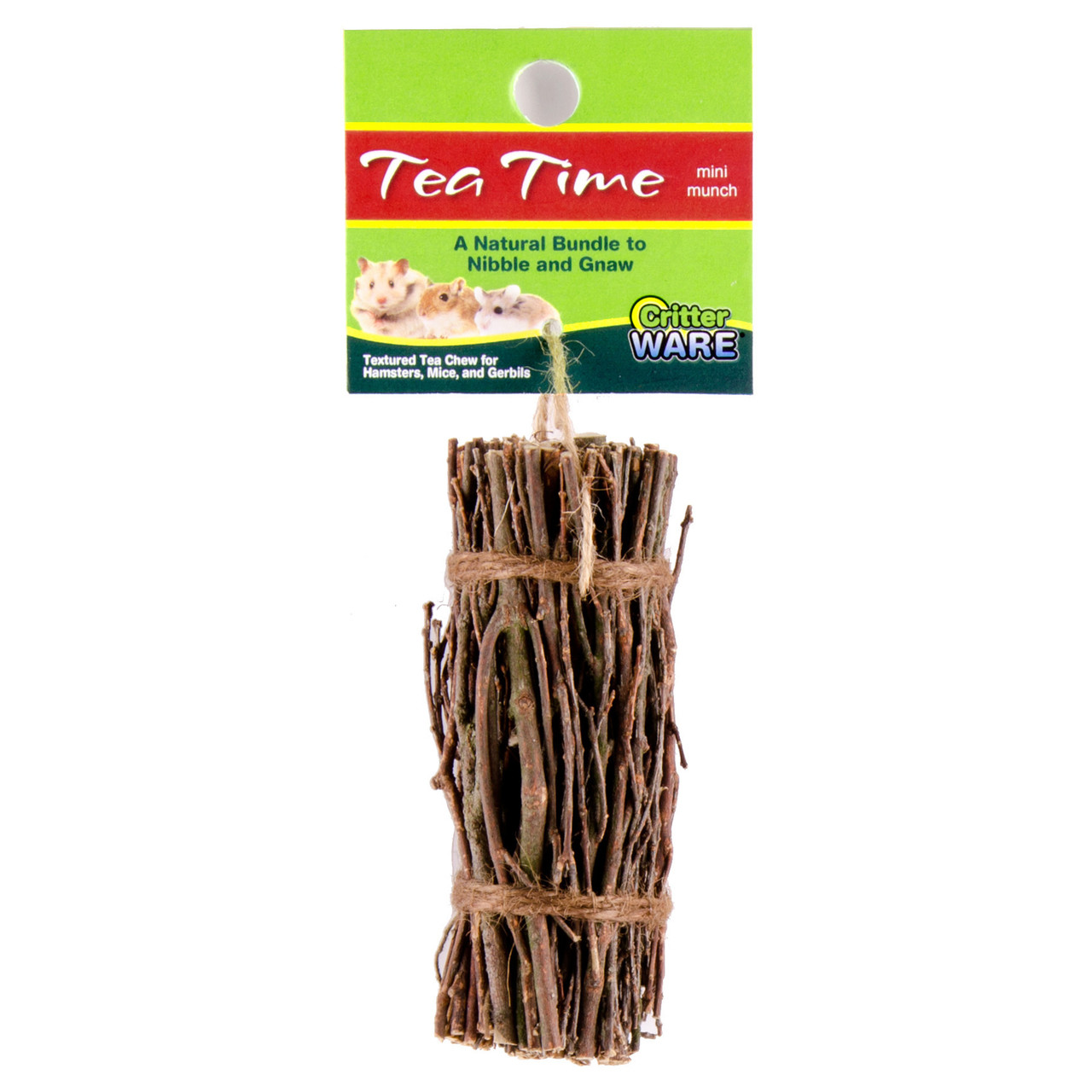 Ware Tea Time Mini Munch Sticks Tea Twig Bundle for Small Animals