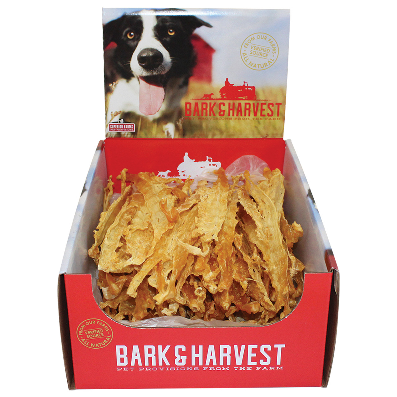 Bark & Harvest Turkey Tendon Dog Chew Treat