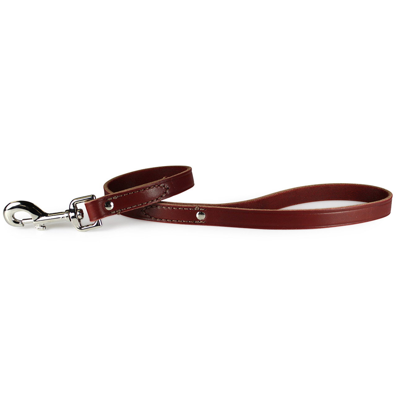 Leather Brothers Flat Latigo Dog Lead