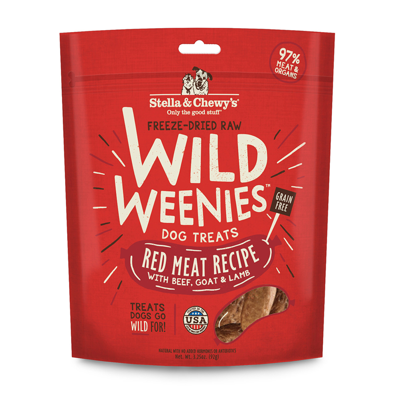 Stella & Chewy's Wild Weenies Red Meat Recipe Dog Treats