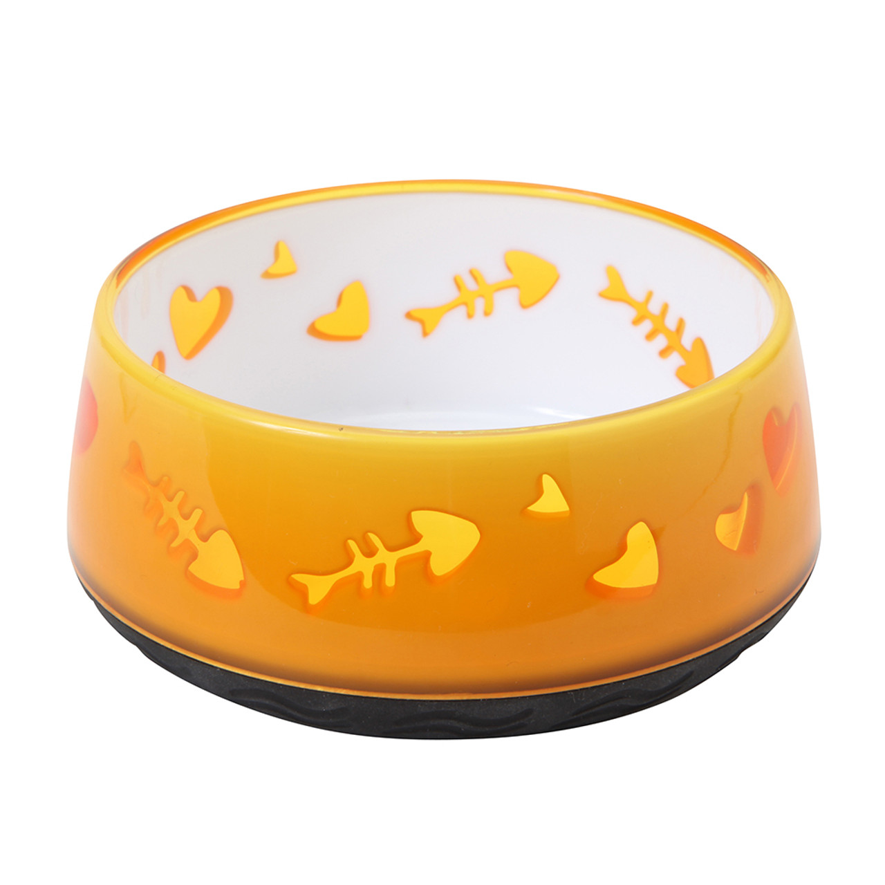 Catit Fish Pattern Non-Skid Cat Bowl
