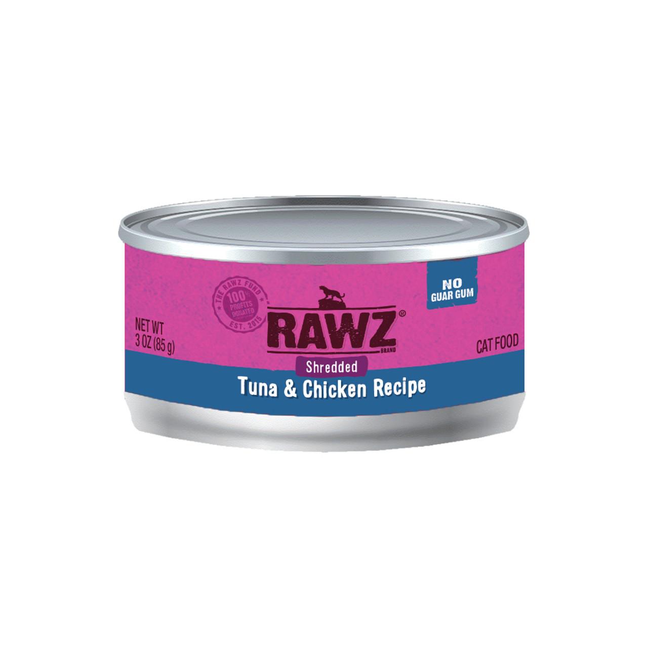 RAWZ Shredded Tuna & Chicken Recipe Adult Canned Cat Food