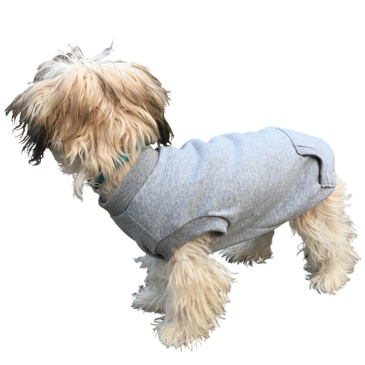 Fashion Pet Gray Dog Sweatshirt
