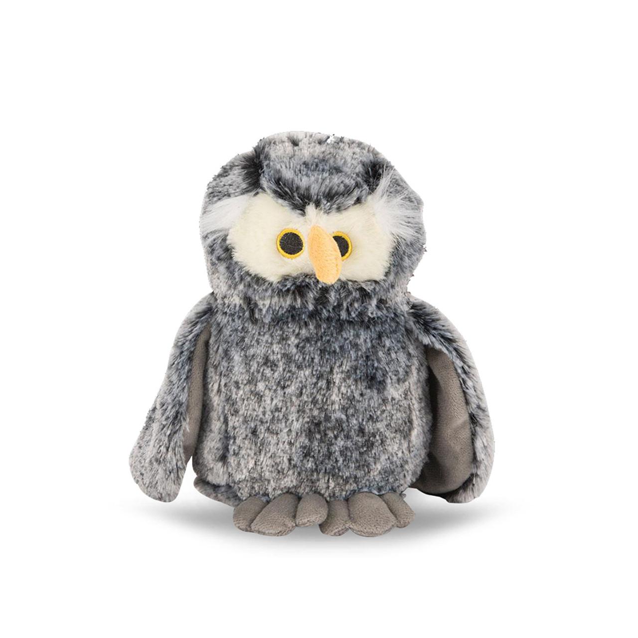 NanDog My BFF Grey Plush Owl Dog Toy