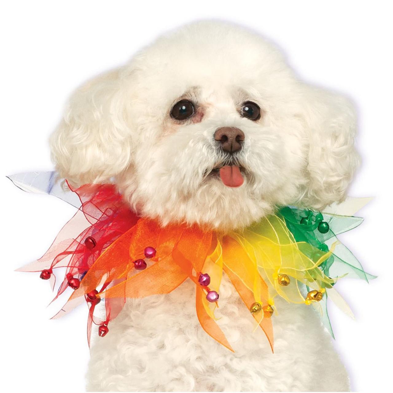 Rubie's Rainbow Fancy Pet Collar