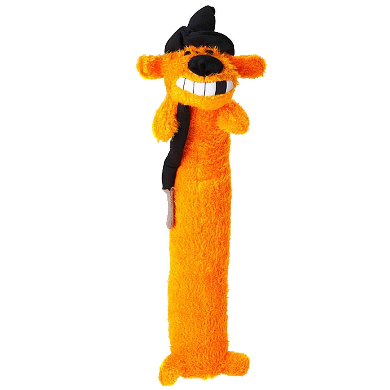 Multipet Halloween Loofa Witch Plush Dog Toy