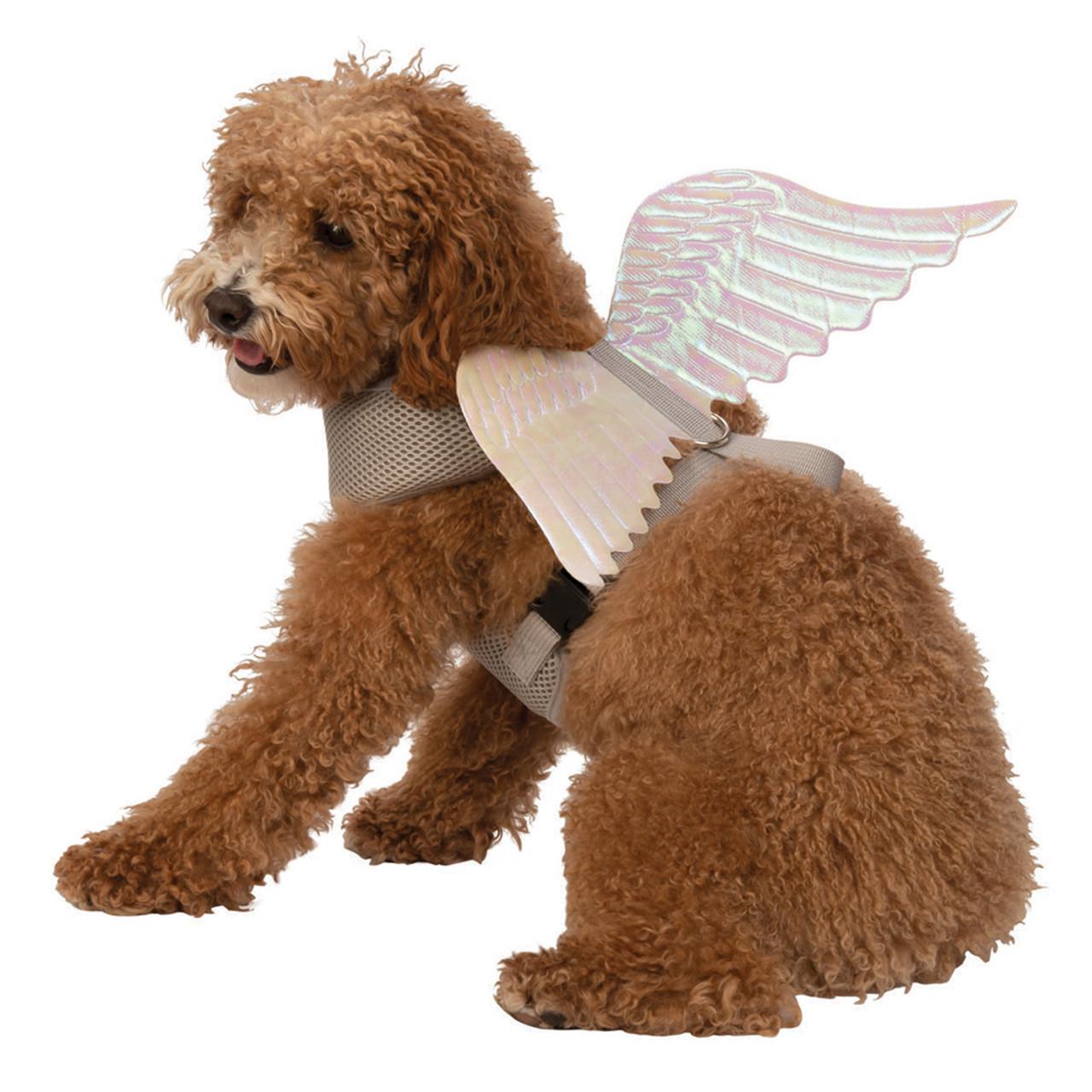 Rubie's Deluxe Angel Wings Pet Harness Costume
