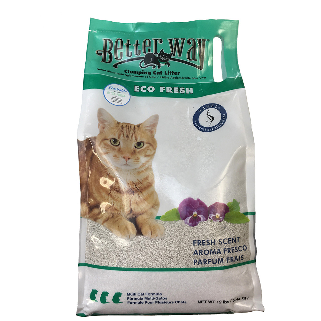 Better Way Eco Fresh Clumping Cat Litter
