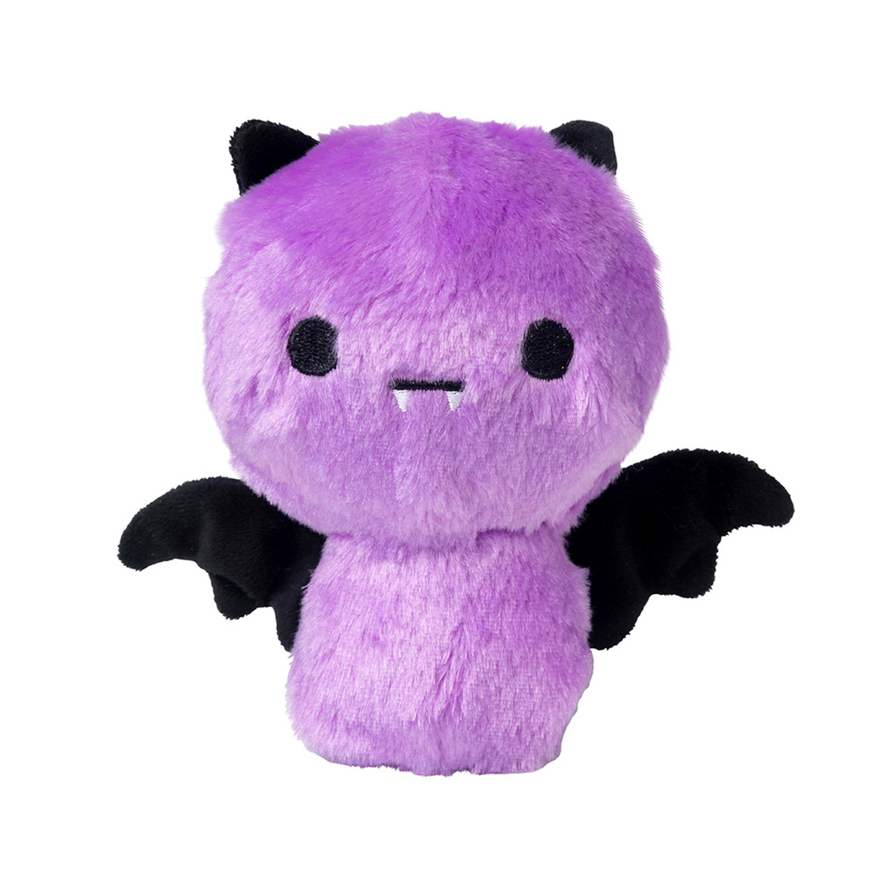 FuzzYard Halloween Happy Bat Purple Plush Dog Toy