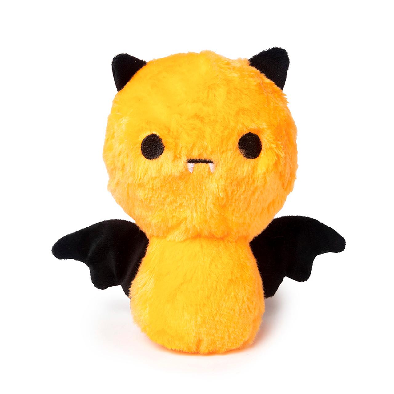 FuzzYard Halloween Happy Bat Orange Plush Dog Toy