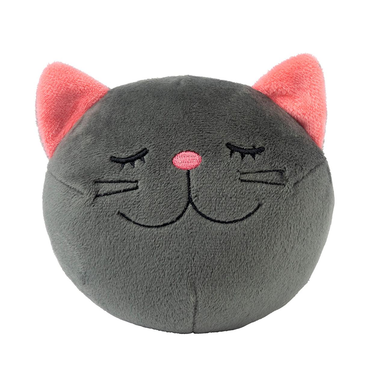 FuzzYard Halloween Cat Ball Plush Dog Toy