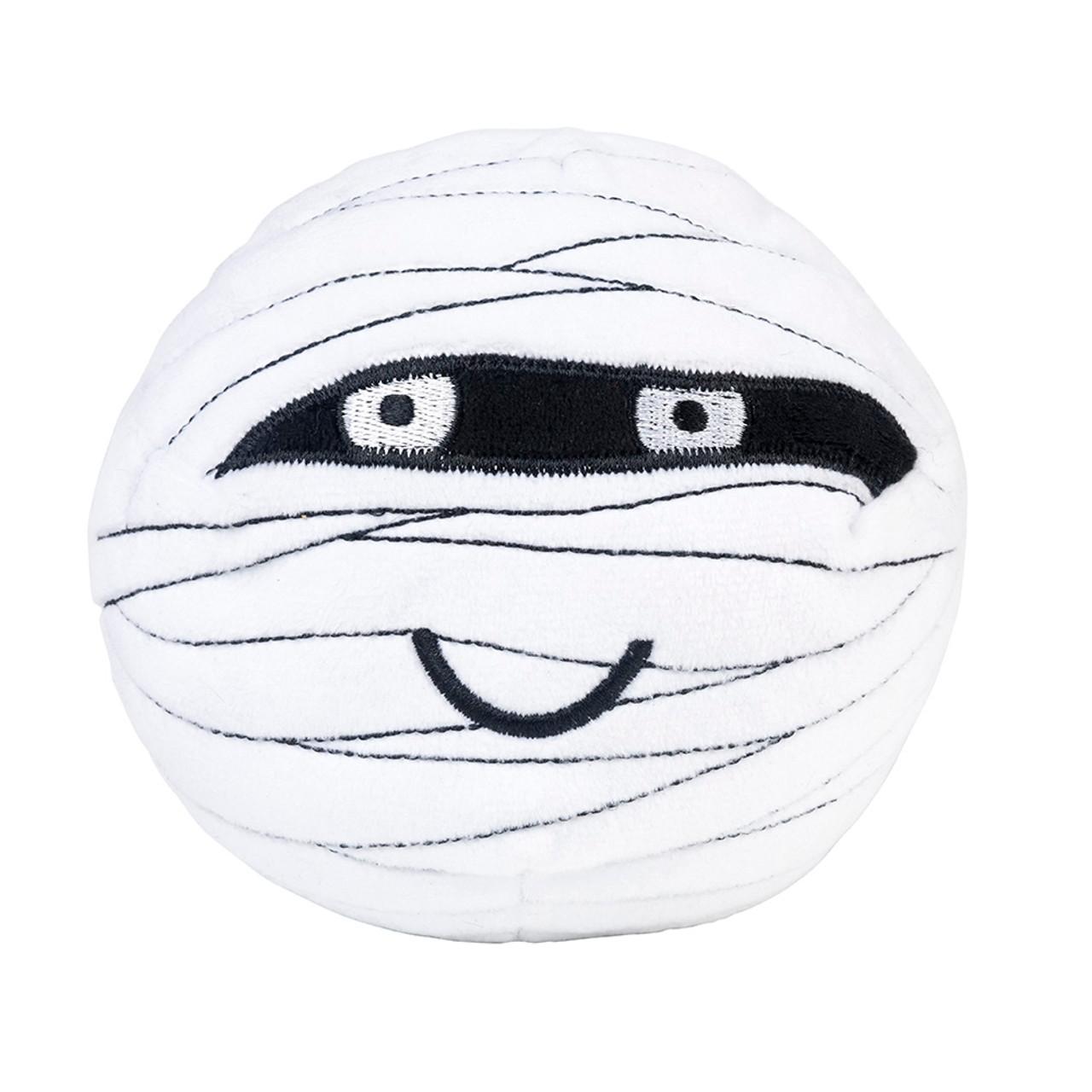 FuzzYard Halloween Pumpkin Ball Plush Dog Toy