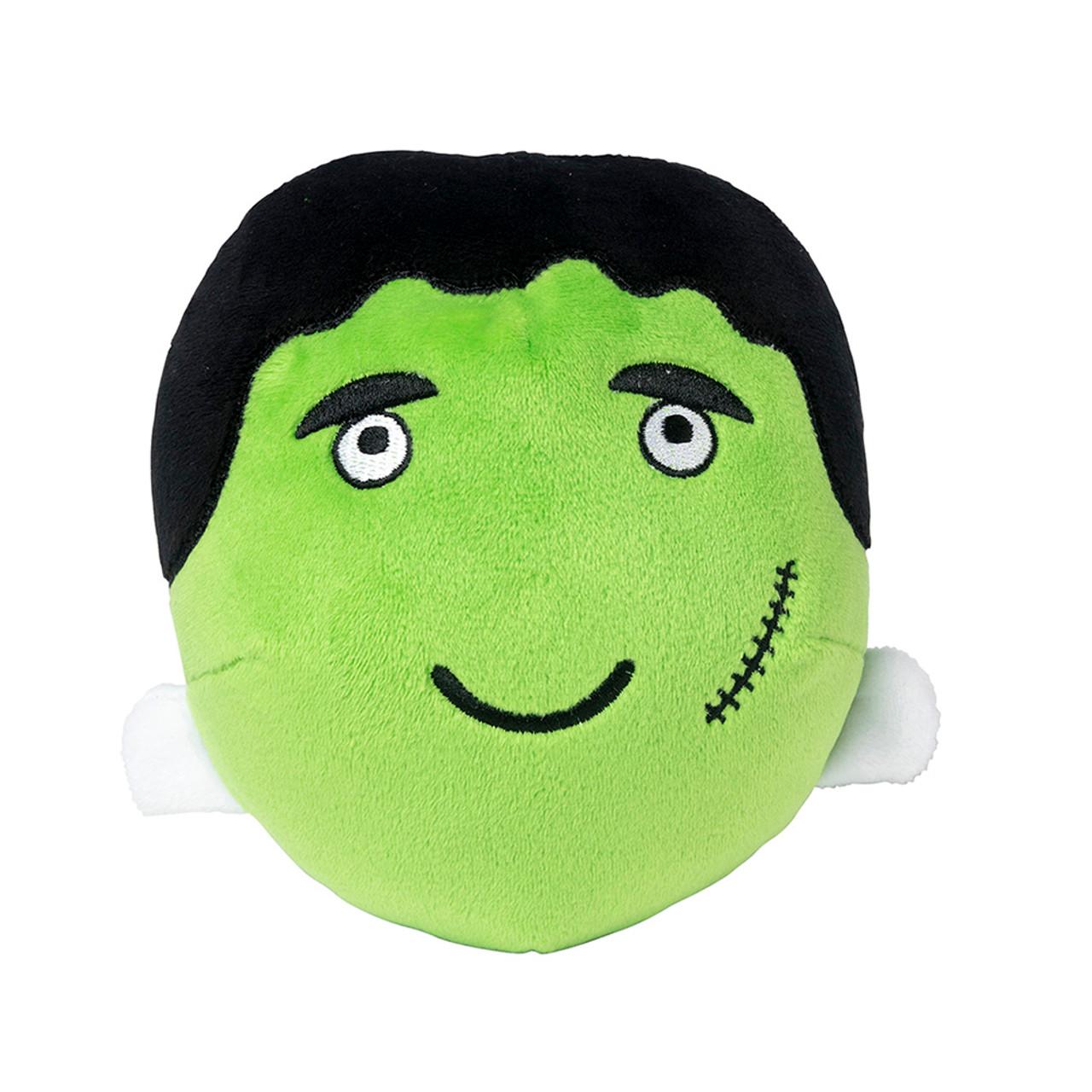 FuzzYard Halloween Frankenstein Ball Plush Dog Toy