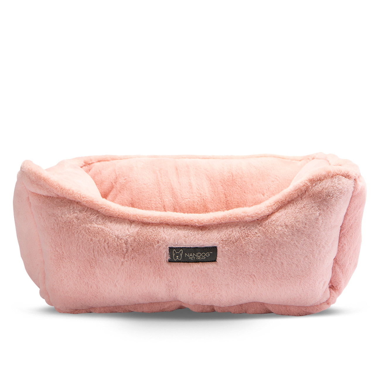 NanDog Luxury Cloud Blush Pet Bed