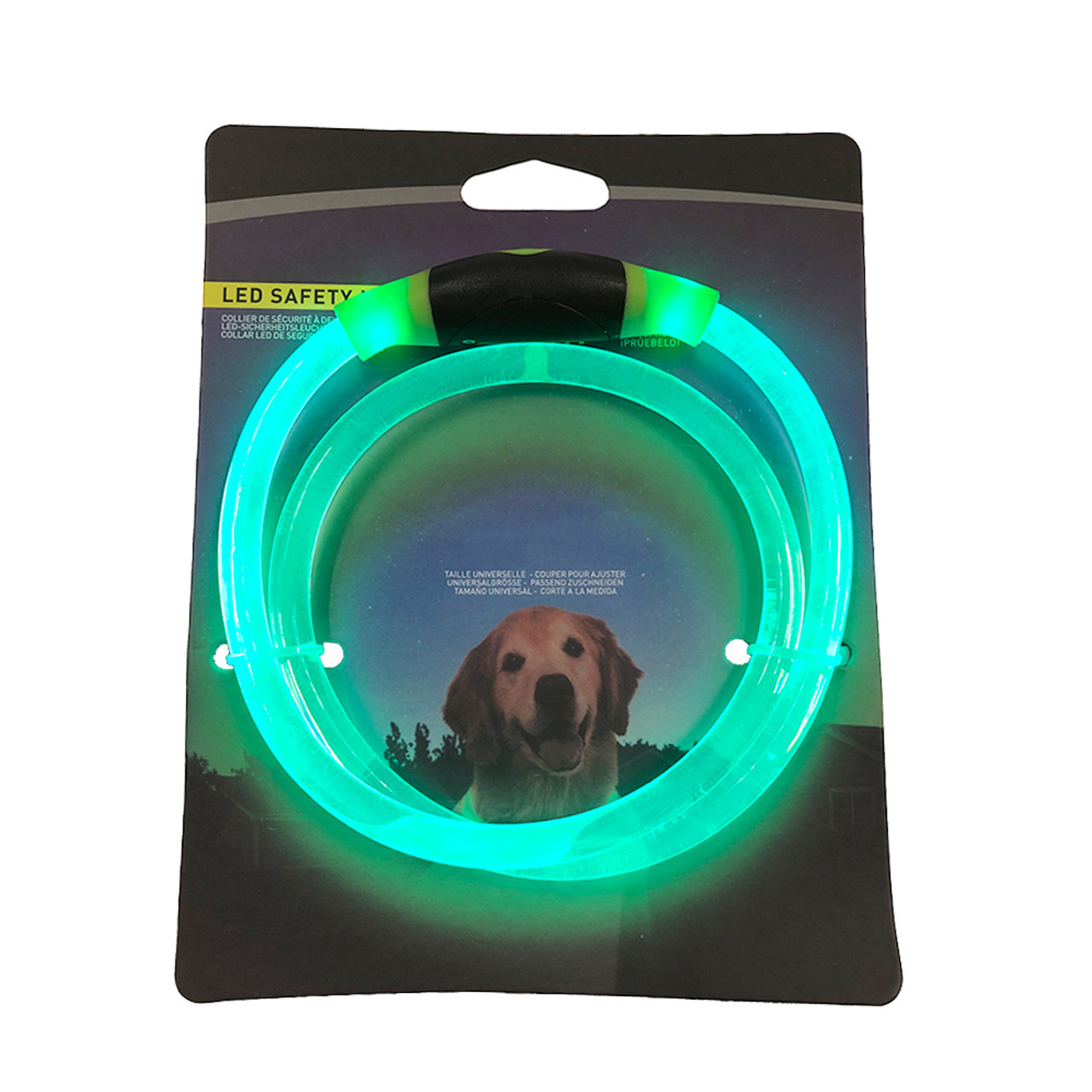 LED Safety Necklace Dog Collar