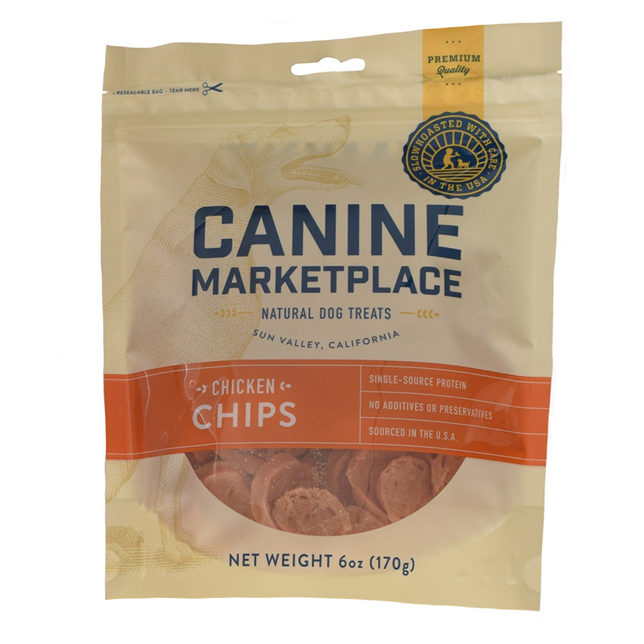 Canine Marketplace Chicken Chips Natural Dog Treats