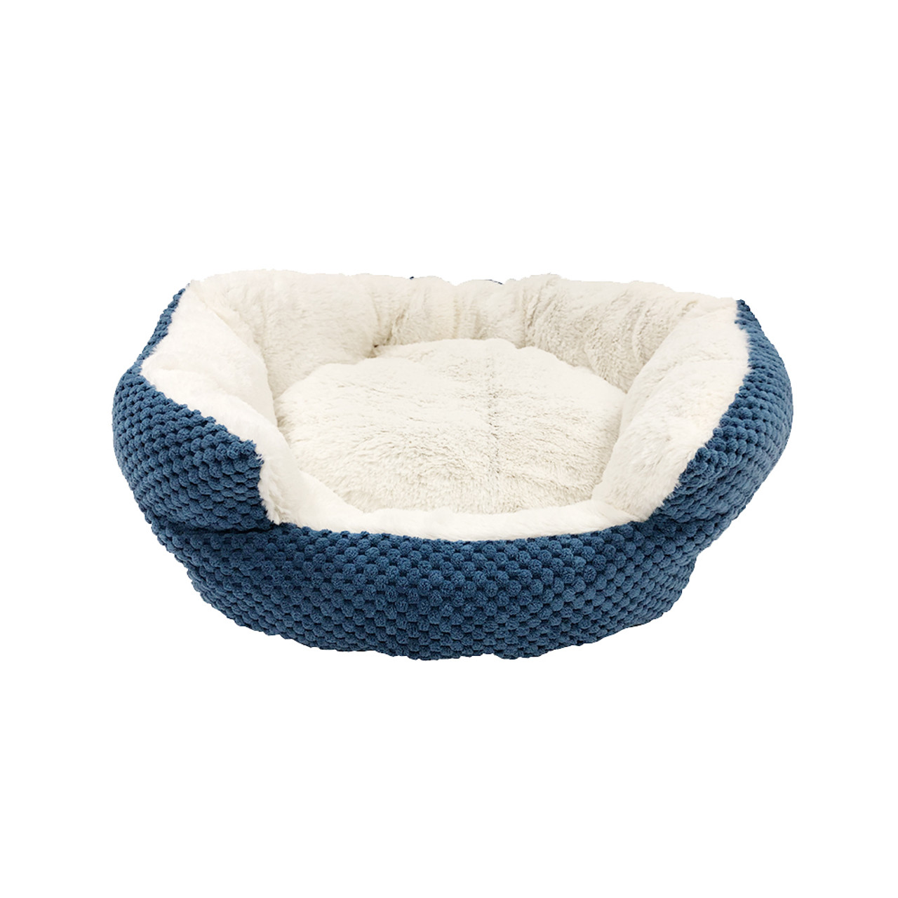 Pure Comfort Clamshell True Navy Pet Bed