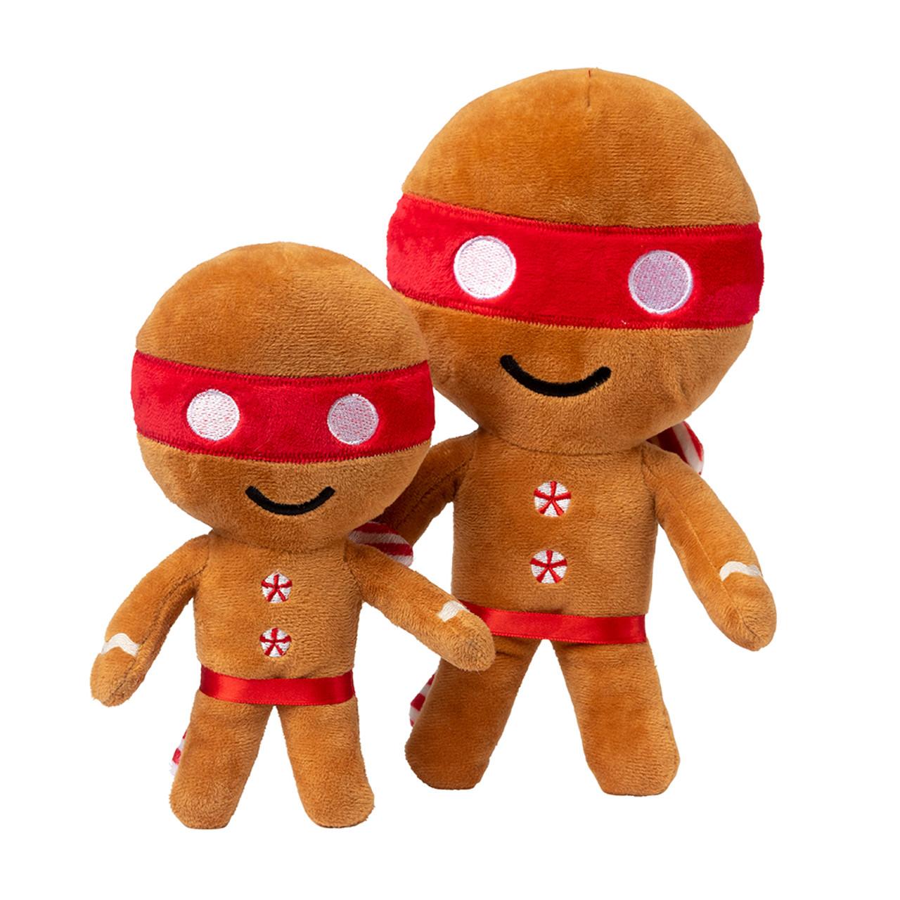FuzzYard Holiday Ninjabread Man Plush Dog Toy