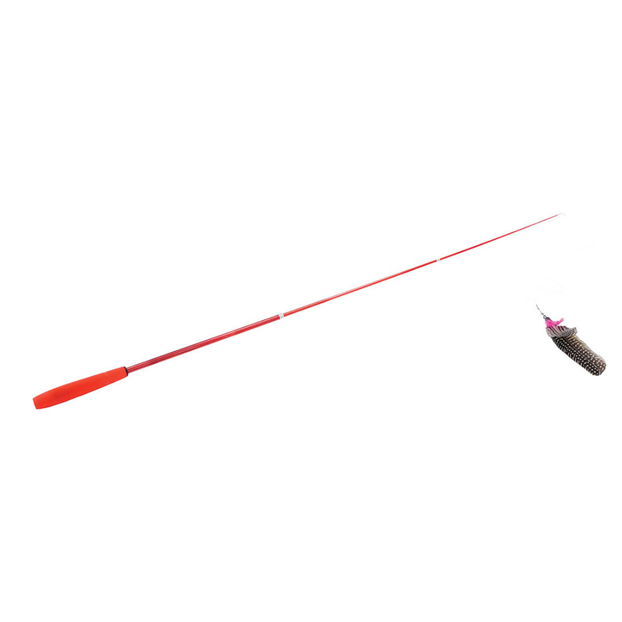Turbo Telescoping Flying Teaser Cat Toy