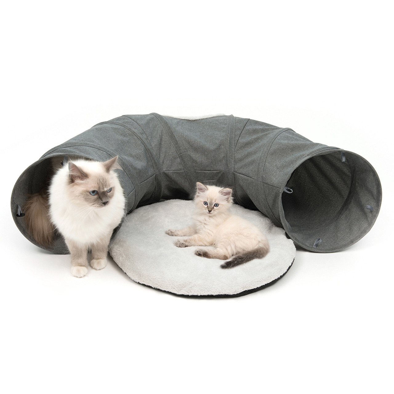 Catit Vesper Grey Cat Tunnel Toy