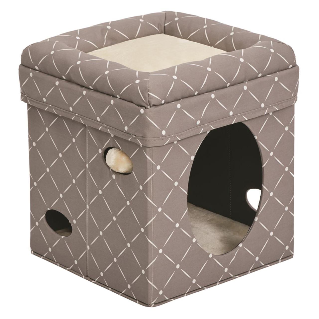 Feline Nuvo Mushroom Curious Cat Cube