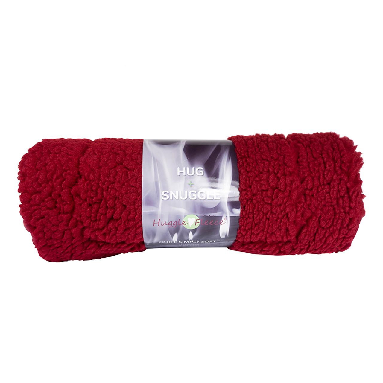 HuggleFleece Holiday Red Pet Mat