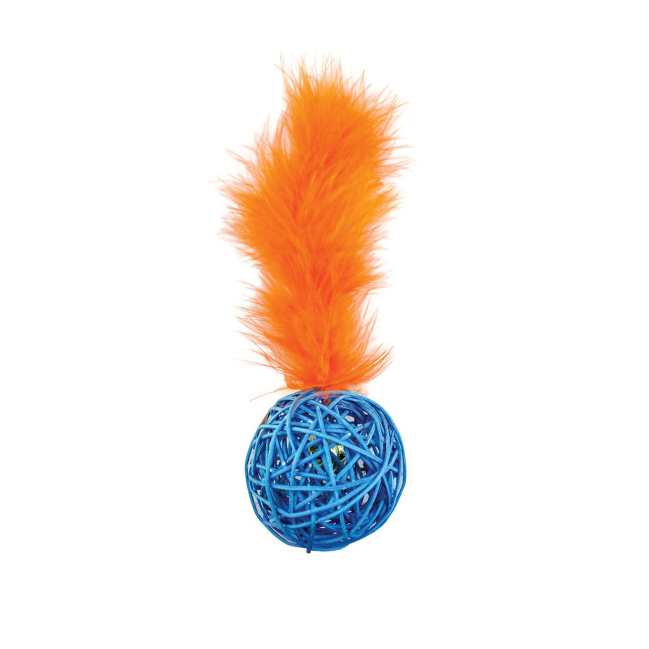Pet Park Blvd Wicker Ball Cat Toy