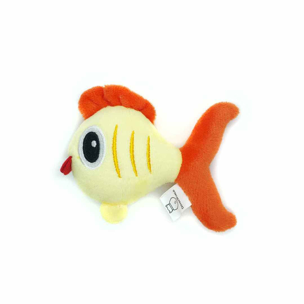 Doyen Sea Buddies Fish Catnip Plush Cat Toy