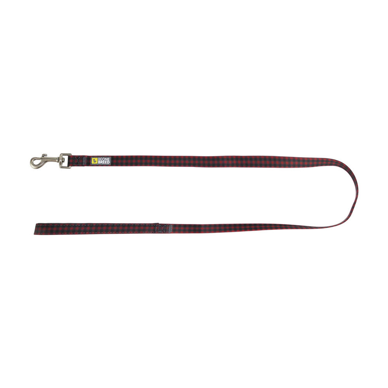 BeOneBreed Silicone Buffalo Plaid Dog Leash