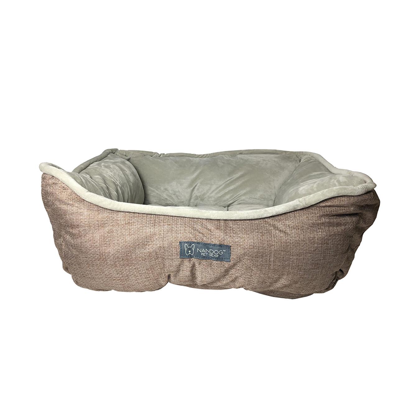 Nandog Microplush Dog Bed