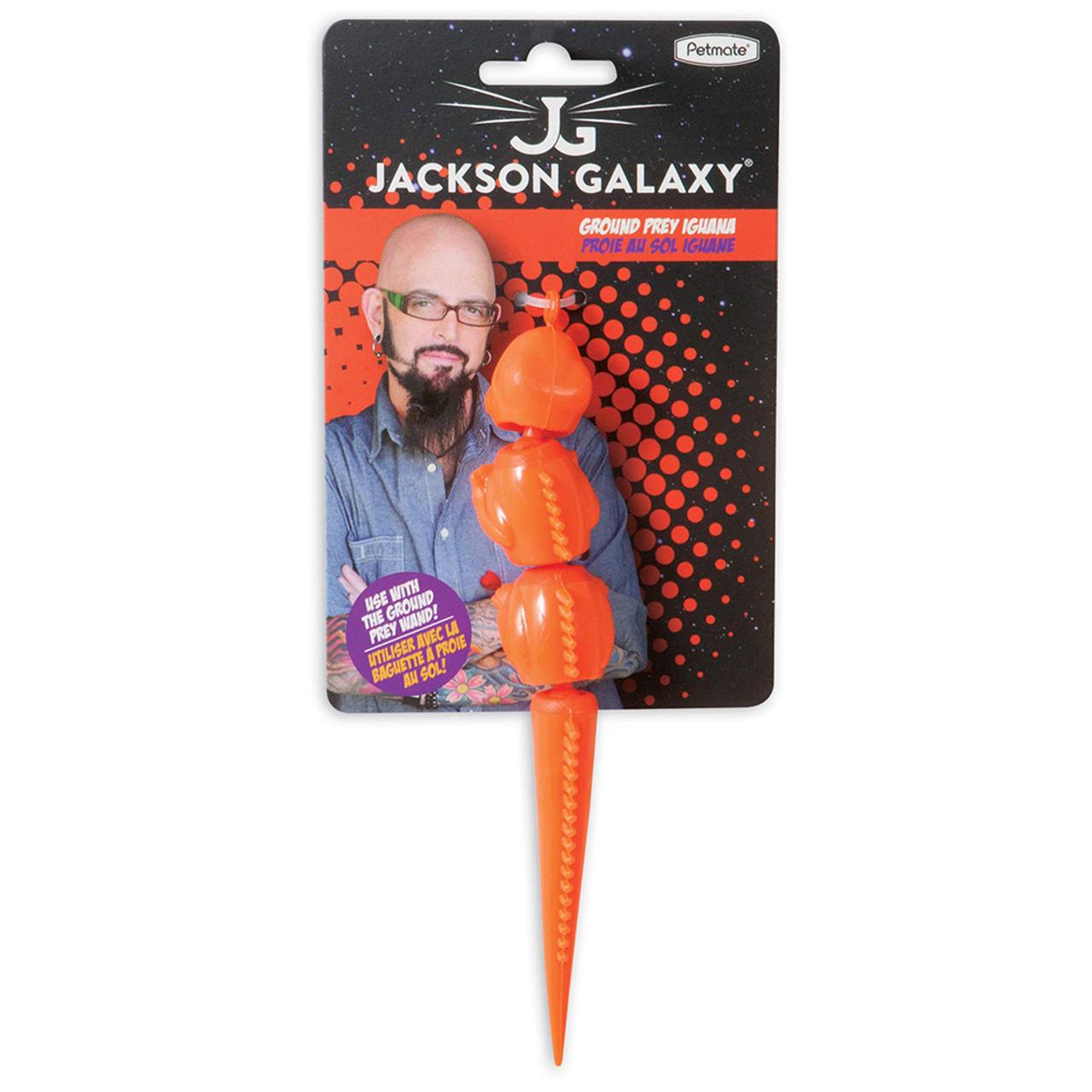 Jackson Galaxy Ground Prey Iguana Cat Toy