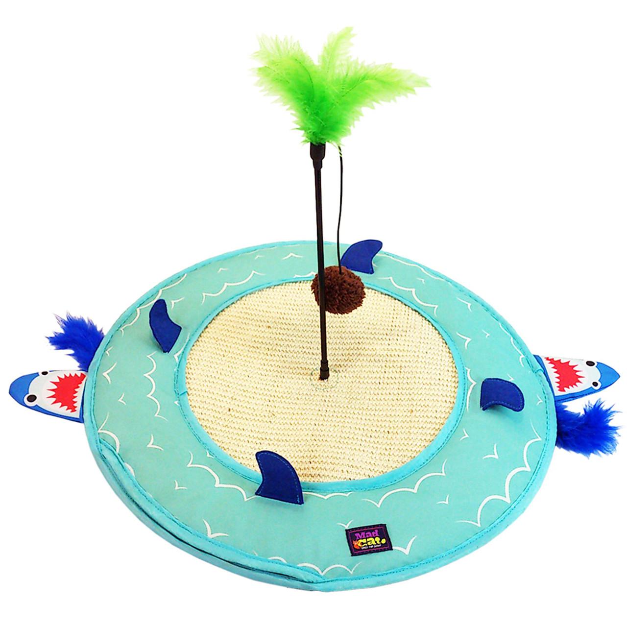 Mad Cat Desert Island Play Mat Cat Toy