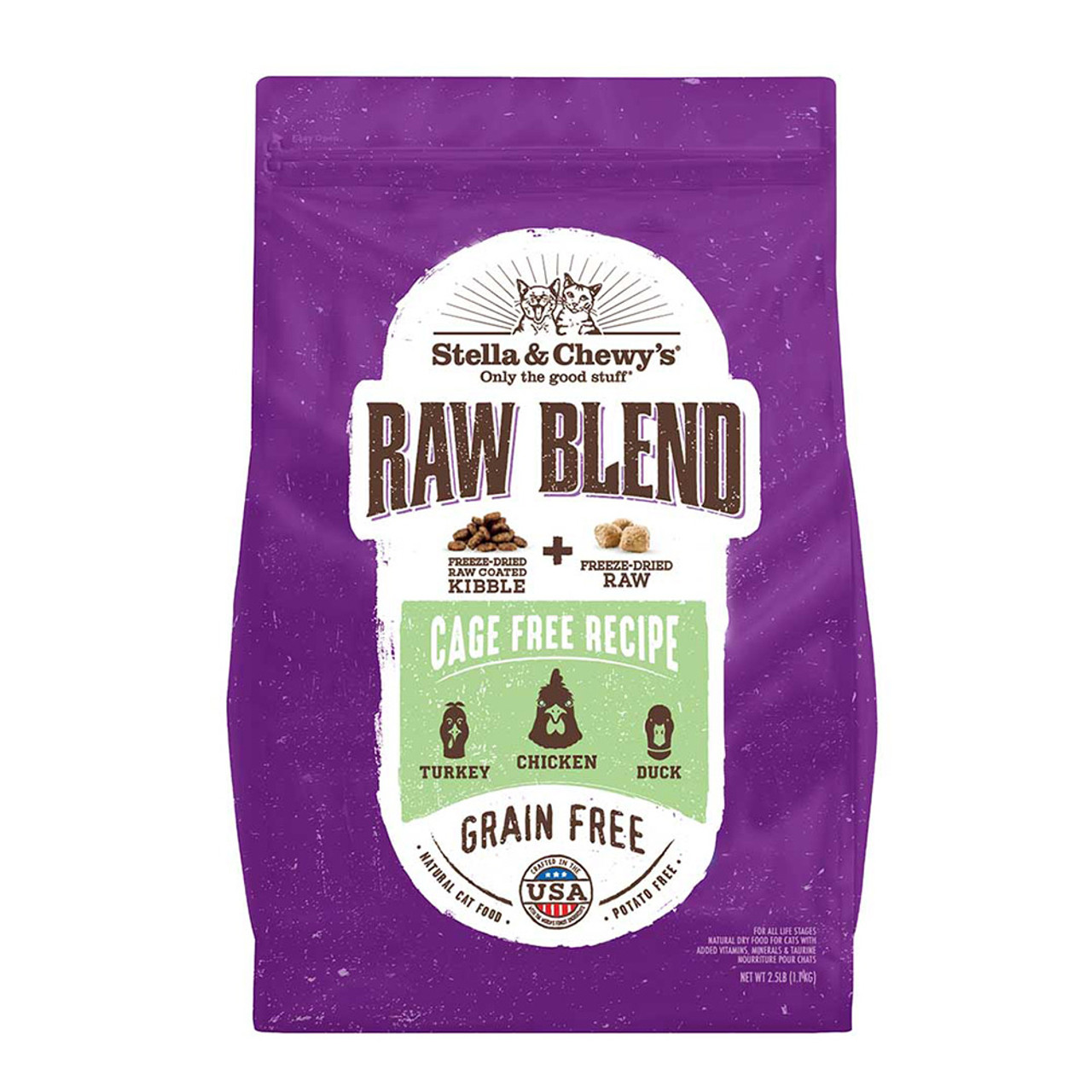 Stella & Chewy's Raw Blend Cage Recipe Dry Cat Food