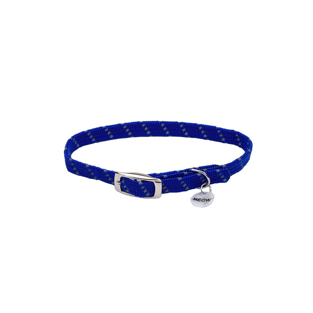 ElastaCat Reflective Safety Stretch Cat Collar With Reflective Charm