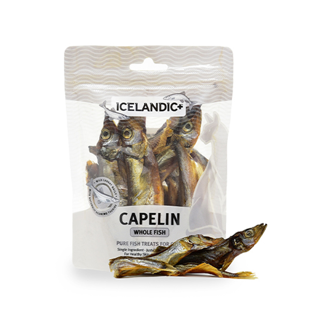 Icelandic+ Capeline Whole Fish Cat Treats