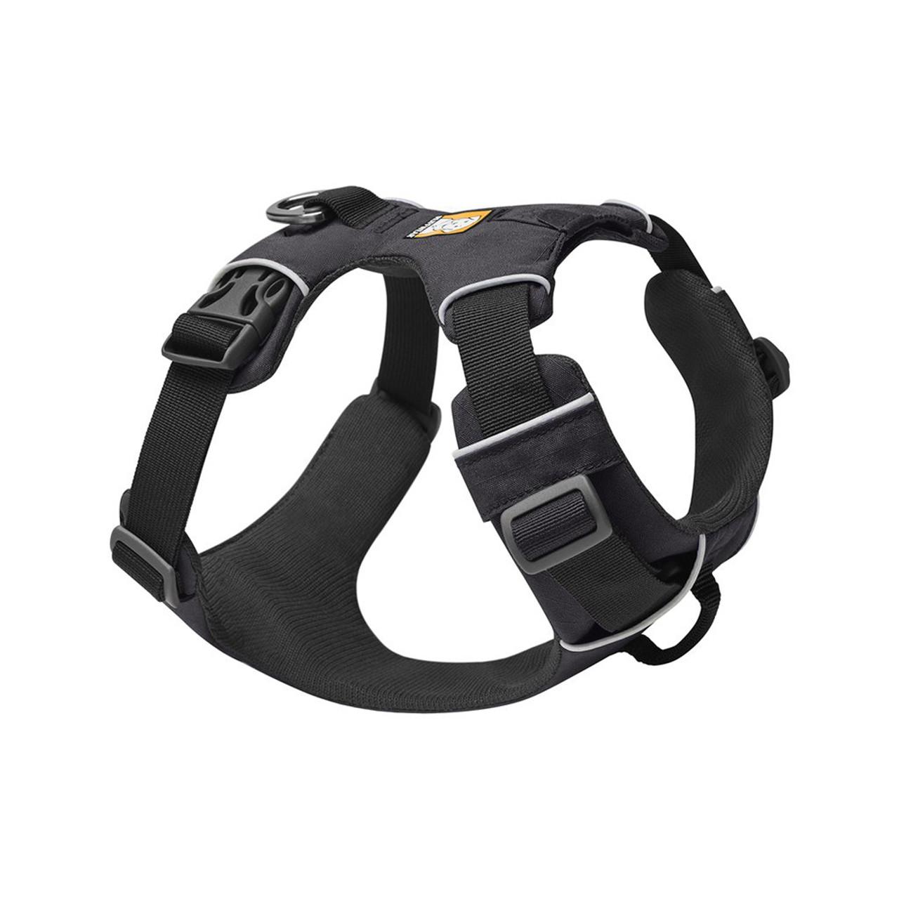 RuffWear Front Range Dog Harness - Front, Twilight Gray