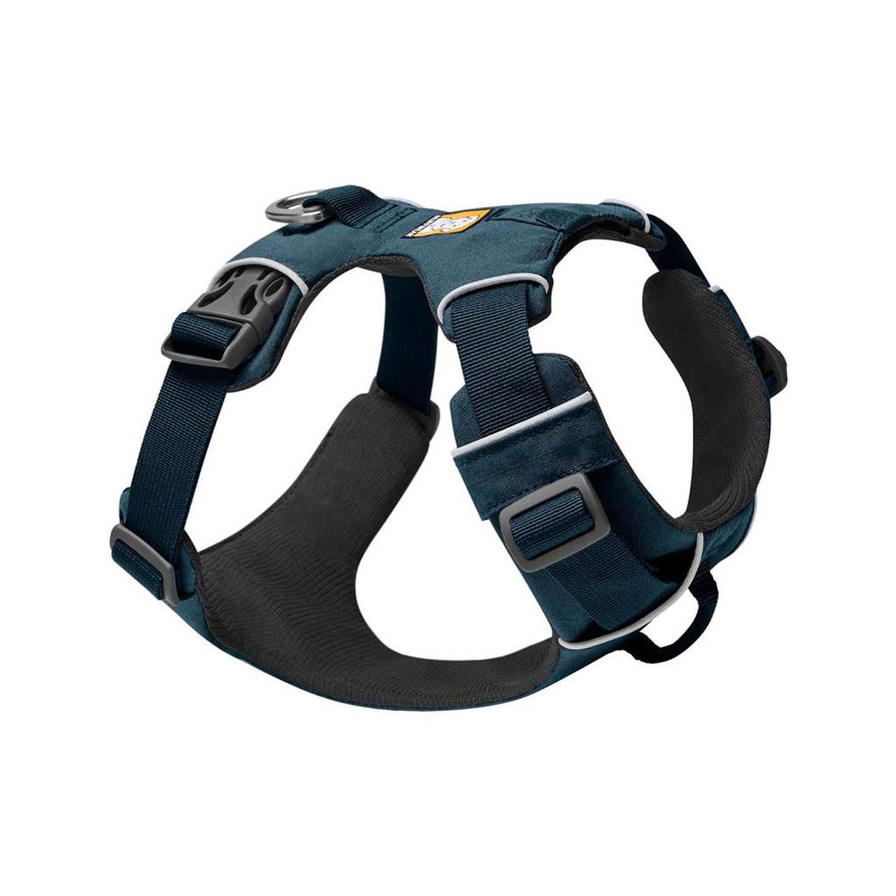 RuffWear Front Range Dog Harness - Front, Blue Moon
