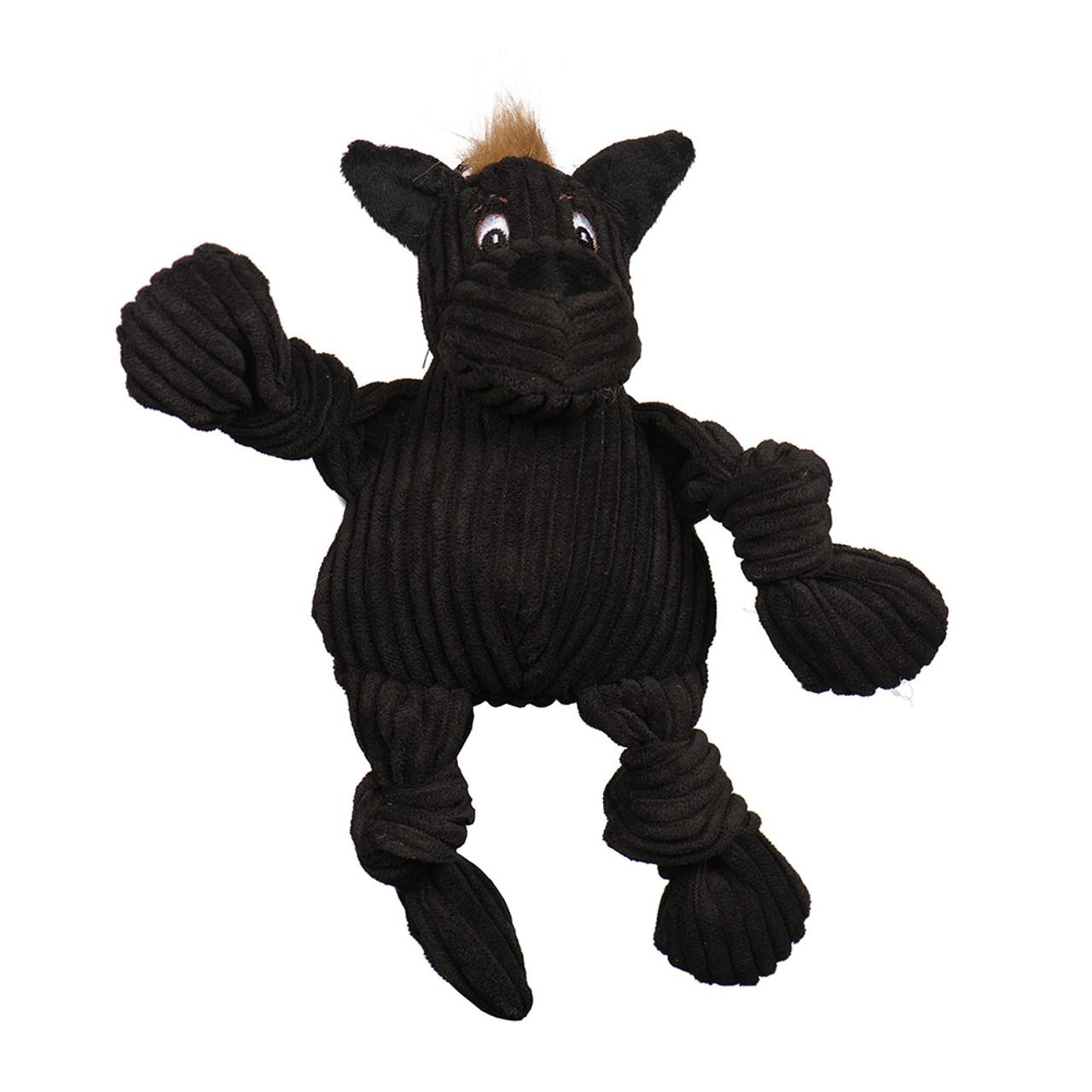 HuggleMutt Tiny Knottie Plush Dog Toy