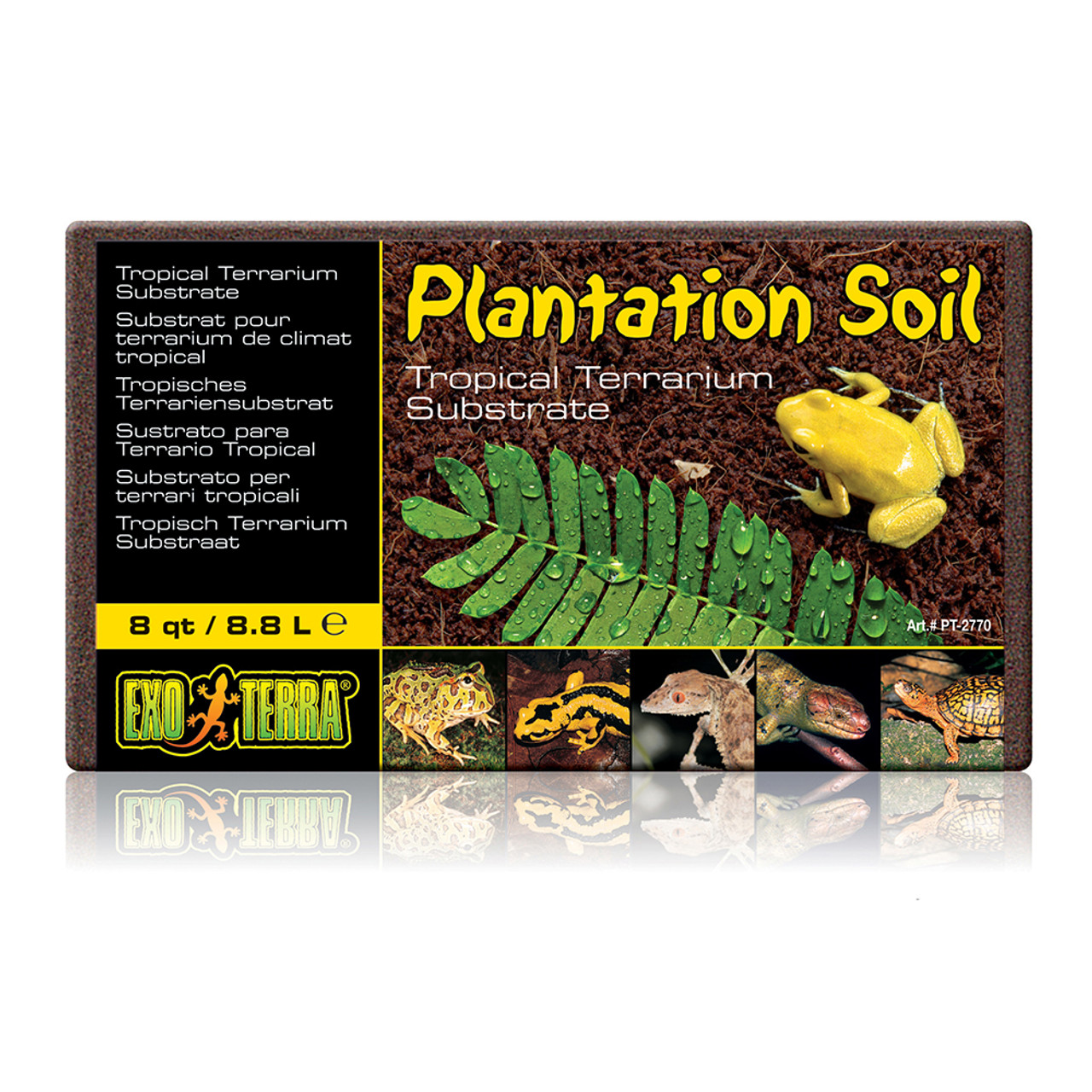 Exo Terra Plantation Soil Tropical Terrarium Substrate