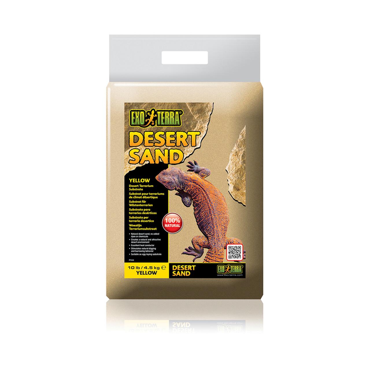 Exo Terra Yellow Desert Terrarium Sand