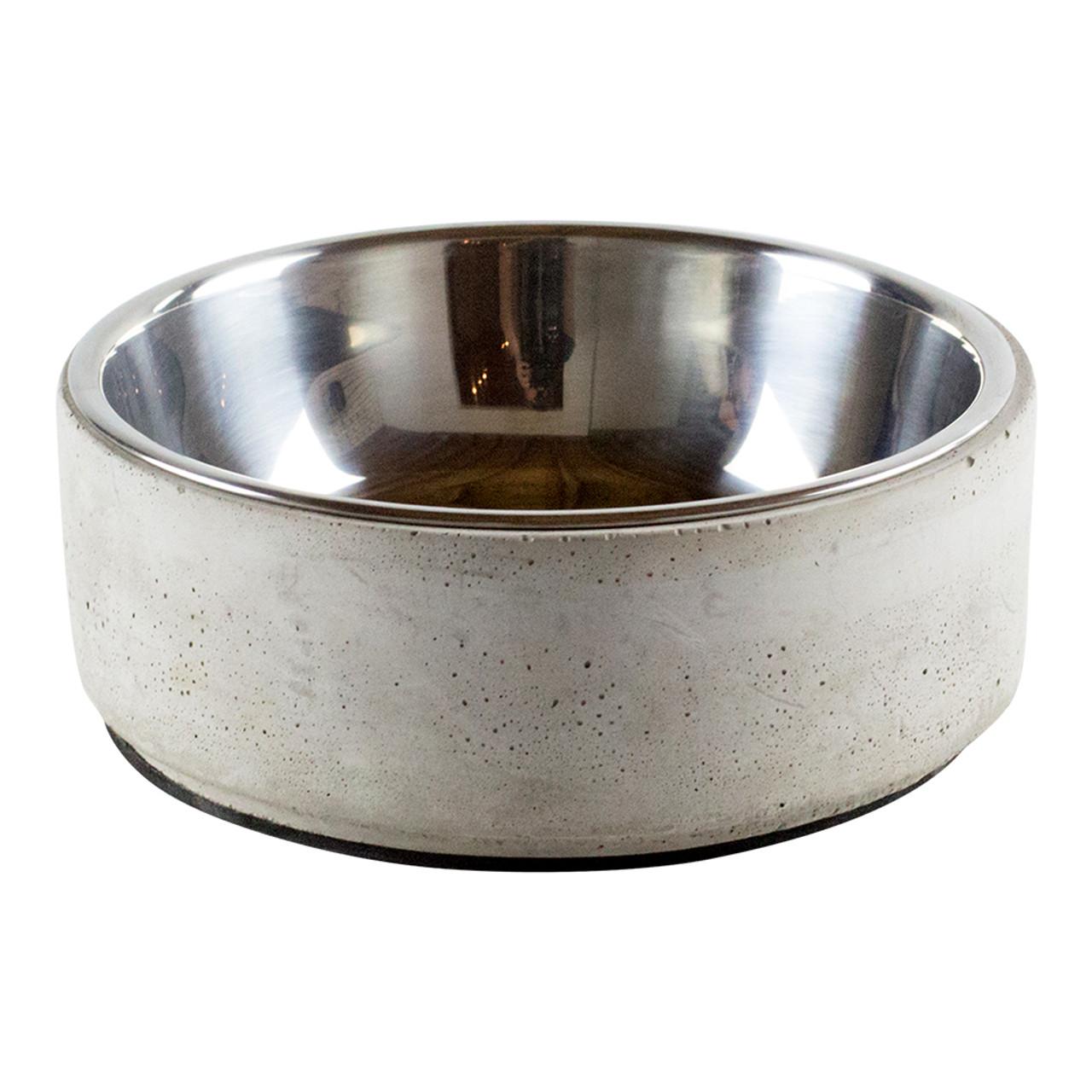 BeOneBreed Concrete Dog Bowl