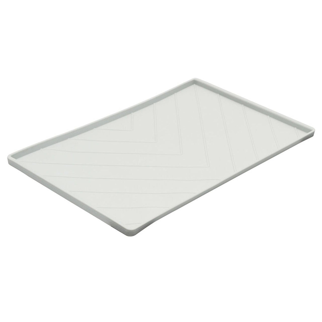 Messy Mutts Silicone Bowl Mat - Light Gray