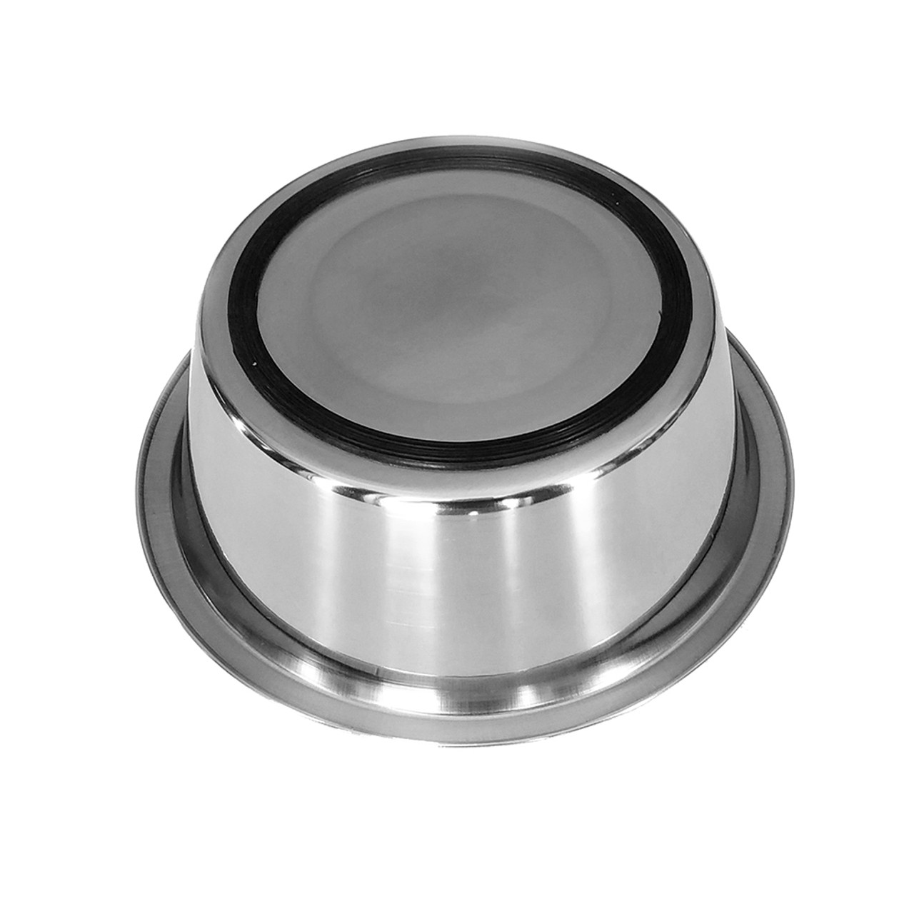 Dineasty Stainless Steel Pet Bowl With Rubber Ring Base