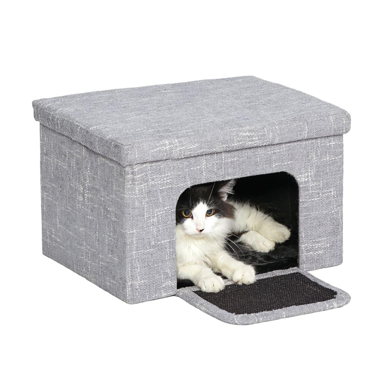 Curious Cat Cube Cottage Cat Furniture