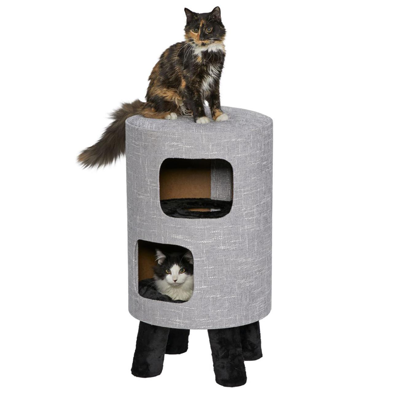 Feline Nuvo Cosmo 2-Story Cat Condo