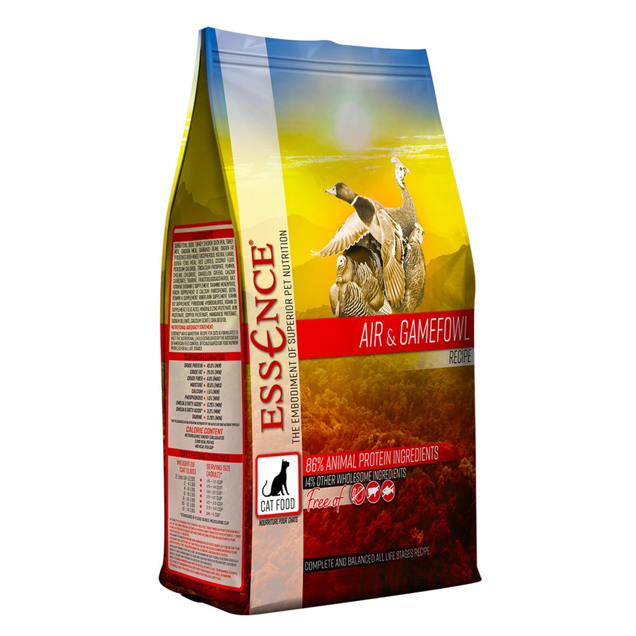 Essence Air & Gamefowl Recipe Dry Cat Food