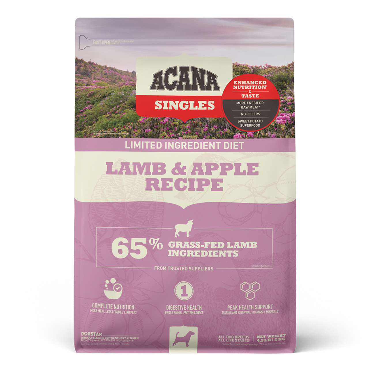 Acana Singles Lamb & Apple Recipe Dry Dog Food